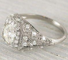 Vintage wedding ring - My wedding ideas