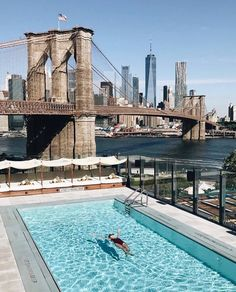Members Club in Brooklyn, New York New York Sommer, Empire State Building, Dumbo New York, New York Bucket List, Bucket Lists, Summer In Nyc, Summer Days, A New York Minute, Landscape Photography