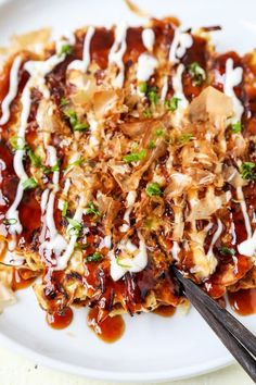Okonomiyaki Recipe - Sometimes called Japanese pizza, Okonomiyaki お好み焼き means 'grilled how you like it'. Introduce your kids to cabbage with this yummy and easy Okonomiyaki Recipe. Ready in just 20 minutes from start to finish! Osaka style recipe, vegetar