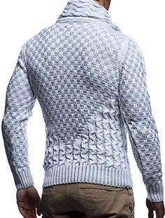 LEIF NELSON pour des Hommes Pull en Tricot Pullover Sweatshirt LN20706