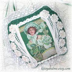 Irish Hanging Decoration St Patricks Day Home Decor by Kittyandme, $22.00
