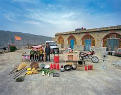 Chinese Families Pose with Their Possessions  - Ma Hongjie #photography