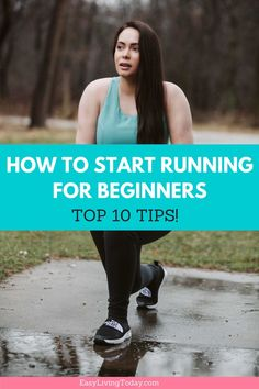 The top 10 new runner tips for weight loss. If you're working on your fitness and need some motivation, this will help you get started and be on your way to running marathons! #runningtips #running  via @easylivingtoday