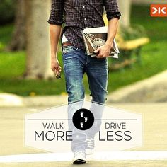 Why drive, when you can walk it the killer way? #MoreOrLess