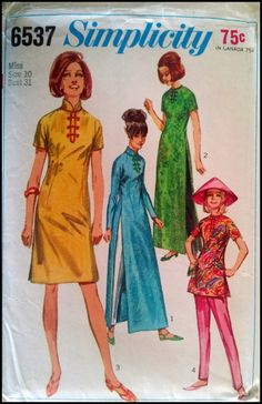 Simplicity 6537 Misses' Dress in Two Lengths by ThePatternShopp