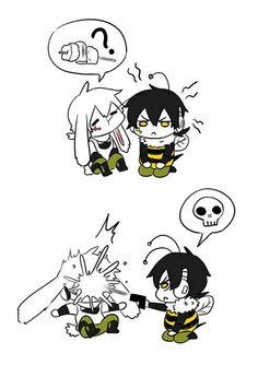 Konoha and Kuroha [Funny Pic 1/3]~[Imagen graciosa 1/3]