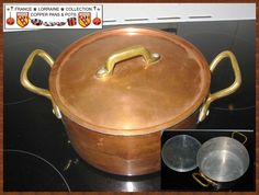 An example of that little Copper Stock Pot pot if it cleaned it look like anyone else. But beware ! It is very light and the interior is aluminum. It can be used in decoration but not to great cooking!