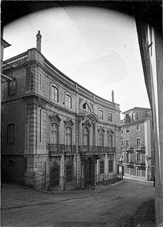 Lisboa de Antigamente: Palácio Vagos (Paço de S. Cristóvão)