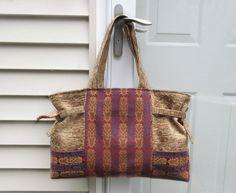 Large Tote Bag / Shoulder bag/ Market bag / by beautifullbags
