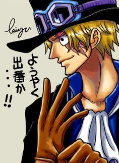 It's finally my turn huh - Sabo, One Piece (@kpopfantasy translations)