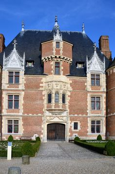 Castle of Martainville, Seine-Maritime,Normandy, France Architecture France, Renaissance Architecture, Historical Architecture, Beautiful Architecture, Architecture Design, Palaces, French Castles, Beautiful Paris, Castle House