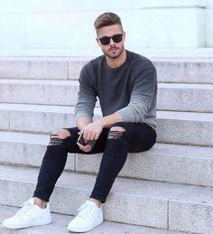 Macho Moda - Blog de Moda Masculina: TÊNIS BRANCO MASCULINO: Como Usar? 10 maneiras Diferentes para compor o Visual - Guia Macho Moda
