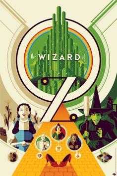 mondo : wizard of oz by tom whalen