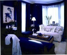 Navy blue room decor astonishing navy blue bedroom decor dark blue bedrooms for girls home decor . Blue Room Decor, Bedroom Decor Dark, Blue Bedroom Walls, Blue Accent Walls, Accent Wall Bedroom, White Bedroom Furniture, Blue Walls, Bedroom Colors, Bedroom Ideas