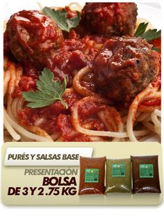 Salsas Concentradas, Roja Adobada, Verde, Roja.