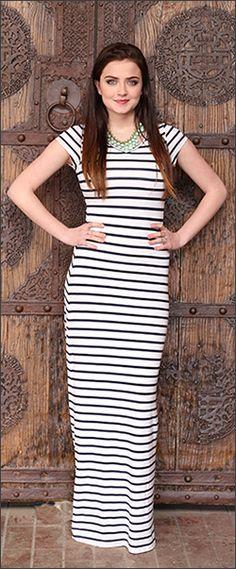 Maya Maxi Dress [BDS1407] - $59.99 : Mikarose Boutique, Reinventing Modesty