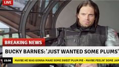 Guys I don't think we were supposed to get that attached to bucky buying plums