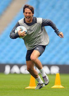 David Silva - Manchester City Training & Press Conference