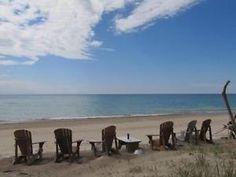 Lake Huron's Best Private Beach