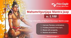 Improve your Planetary combinations,resolve old problems and get blessed with this highly potent #Mahamrityunjaya Mantra Puja! Get it done here:https://goo.gl/bemc2B