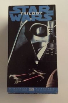 *~ ORIGINAL STAR WARS TRILOGY THX REMASTERED VHS BOXED SET OOP RARE ~* 1995