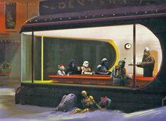 Nighthawks and that bar on Tattooine