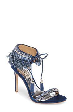 Embellished Tie Sandal
