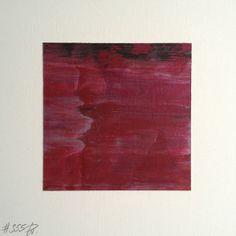 #355 | square abstract painting (original) | acrylic on white board | size 9 cm x 9 cm | boardsize 15 cm x 15 cm | https://www.etsy.com/shop/quadrART