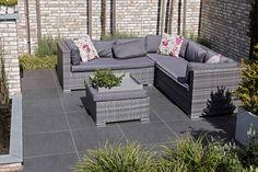 keramische tuintegels - redsun - voorbeeld terras