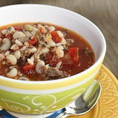 "Quick Hoppin' John Soup | ""Not typically a fan of black eyed peas but will eat them on New Year's Day. Loved this, however, and will likely make it again during the year! """
