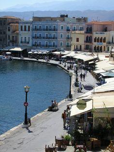 Chania harbour, Greece - 2006