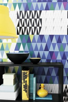 Retro Wallpaper Pattern Transforming Your Room into Unique and Modern Interior in Vintage Style