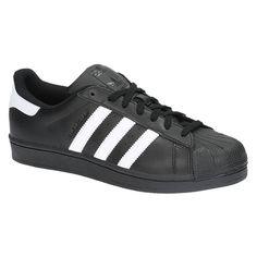 exclusieve Adidas SUPERSTAR FOUNDATION zwarte lage sneakers