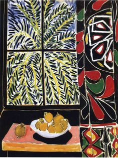 Interior with Egyptian Curtain, 1948 - Henri Matisse
