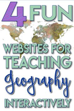 These websites are so much fun, and they will quickly increase your students' knowledge of geography. You'll find yourself playing … Geography Quotes, Geography Lesson Plans, Geography Quiz, Geography Worksheets, Geography For Kids, Geography Activities, Teaching Geography, Teaching History, Geography Revision