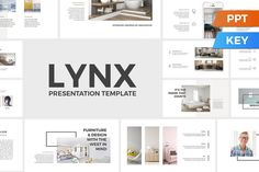 Lynx Presentation Template by SlideStation on @creativemarket