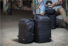 o fabricante de mochilas para câmeras (Renown)  apresenta a Série ProTactic, de alto desempenho, inspiração urbana, a mochila para câmera profissional com acesso incomparável.