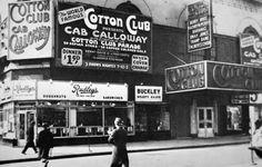 The Cotton Club in Harlem, New York City - American Photographer, (20th c als Kunstdruck oder handgemaltes Gemälde.