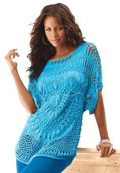 The Crochet Openwork Sweater Roamans