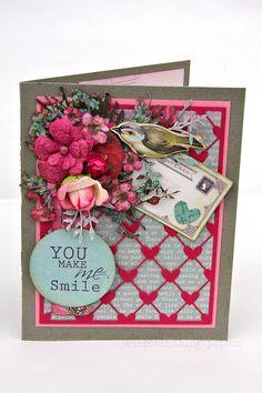 You Make Me Smile Card - Scrapbook.com