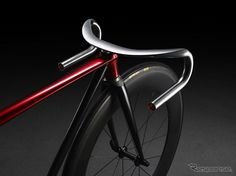 Le constructeur automobile Mazda expose un fixie Bmx, Mazda, Velo Design, Bicycle Design, Velo Vintage, Vintage Bicycles, Cool Bicycles, Cool Bikes, Bike Details