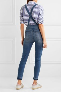 Madewell - Stretch-denim Overalls - Blue