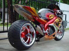 This is my buddies gsxr 1000 that he let me ride hope you enjoy Suzuki Gsx R, Motos Honda, Custom Street Bikes, Custom Sport Bikes, Moto Bike, Motorcycle Bike, Motorcycle Paint, Motorcycle Quotes, Cool Motorcycles