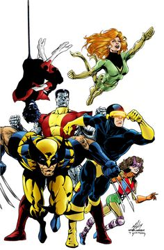 X-MEN; back when it was a well-written book...not a Commodity Cash Cow Franchise.