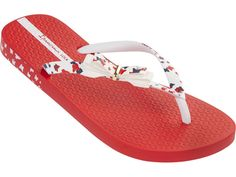 White Butterfly, Butterfly Print, Ipanema Sandals, Womens Flip Flops, Red And White, Footwear, Lol, Romantic, Urban