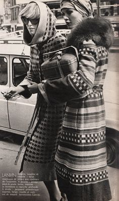 Lanvin  ELLE France - Sept 11975  Photographed by Dick Balarian