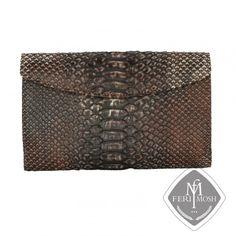 FERI MOSH Exotic - Alessia - Wallet Louis Vuitton Damier, Exotic, Plating, Wallet, Luxury, Metal, Pattern, Gold, Leather