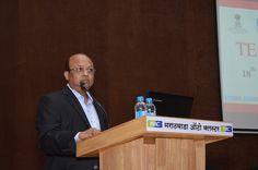 Mr. Prasad Kokil, Vice President, CMIA Aurangabad anchoring the Meet