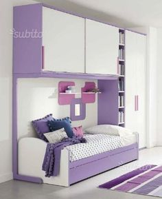 Cameretta componibile ponte con divano letto - Arredamento e Casalinghi In vendita a Ancona