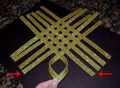 étoile de papier 3D